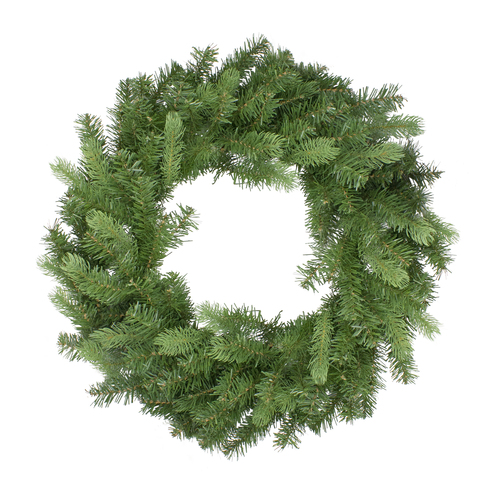 Noble Fir Artificial Christmas Wreath - 30-Inch, Unlit - IMAGE 1