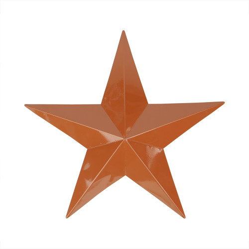 """36"""" Brown Country Rustic Star Outdoor Patio Wall Decor - IMAGE 1"""
