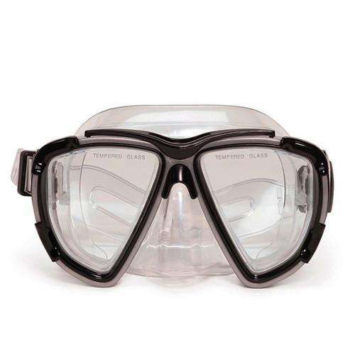 "6.5"" Gray Kona Pro Mask Swimming Pool Accessory for Adults - IMAGE 1"