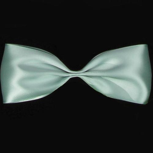 "Jade Green Double Face Craft Ribbon 2.5"" x 27 Yards - IMAGE 1"