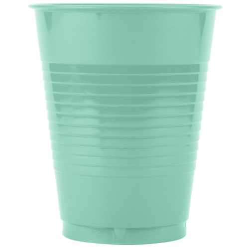 Club Pack of 240 Mint Green Contemporary Heavy-Duty Party Cups 16 oz. - IMAGE 1