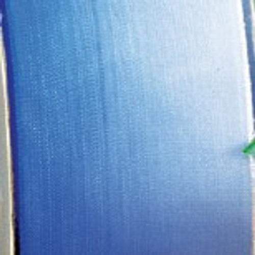 """Cobalt Blue and White Ombre Wired Craft Ribbon 2"""" x 27 Yards - IMAGE 1"""
