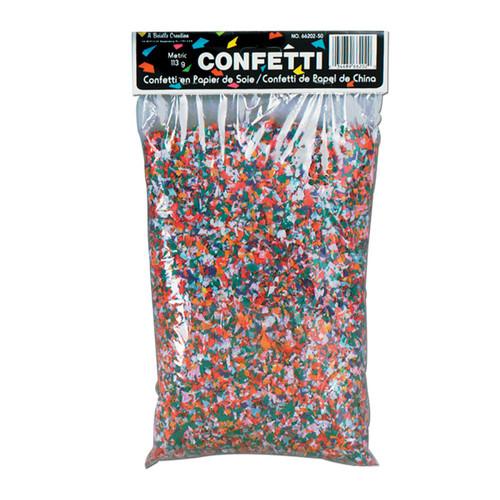Club Pack of 50 Multi Colored Tissue Confetti - IMAGE 1