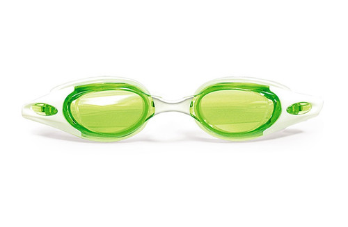 """7"""" Green and Clear Advanced Pro Goggles Swimming Pool Accessory for Adults - IMAGE 1"""