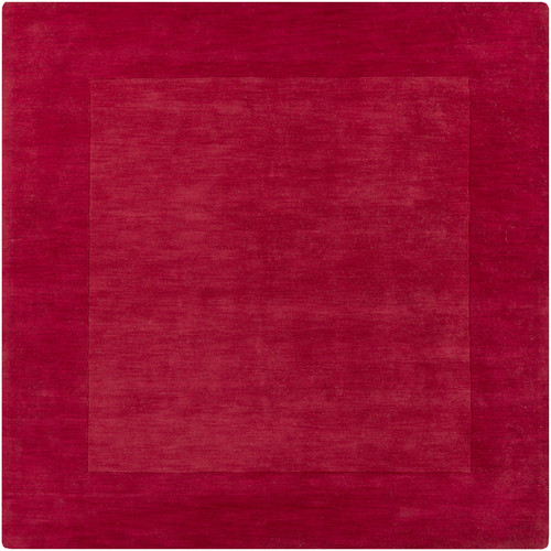 9.75' Magical Moments Bittersweet and Appalachian Cherry Red Wool Area Throw Rug - IMAGE 1