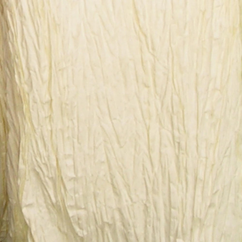 "Ivory White Semi Crushed Paper Craft Ribbon 4"" x 108 Yards - IMAGE 1"