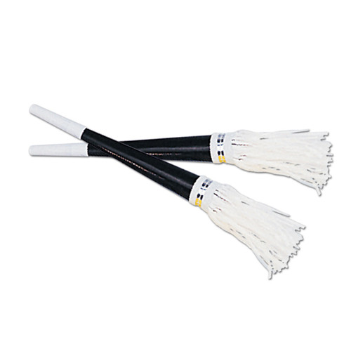 """Club Pack of 100 Black and White New Year's Eve Tasseled Trumpet Horn Party Favors 9"""" - IMAGE 1"""