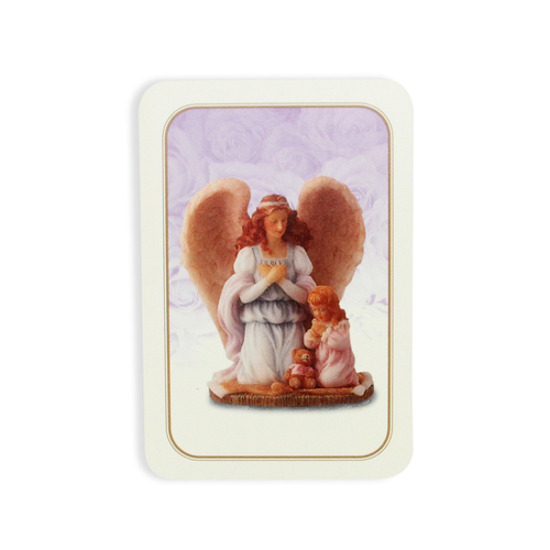 """Club Pack of 25 Seraphim Classics 'Why God Made Little Girls' Prayer Cards 3.5"""" - IMAGE 1"""