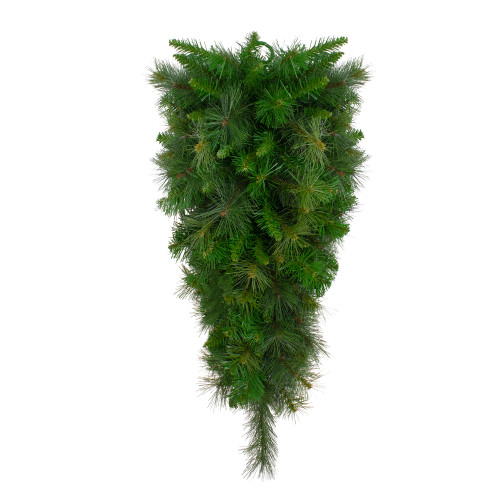 "48"" Canyon Pine Artificial Christmas Teardrop Swag - Unlit - IMAGE 1"
