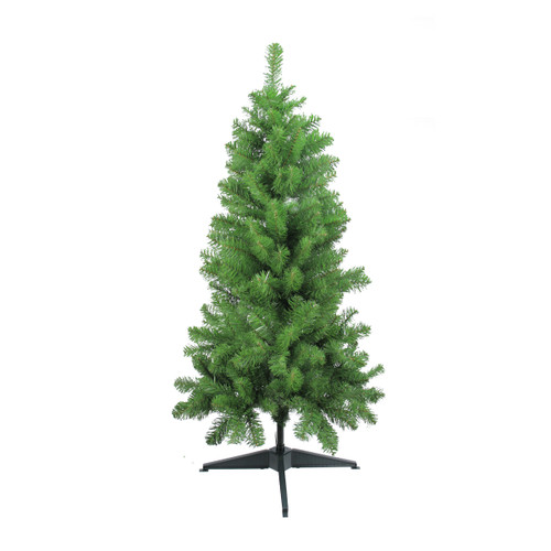 4' Medium Traditional Noble Fir Artificial Christmas Tree - Unlit - IMAGE 1