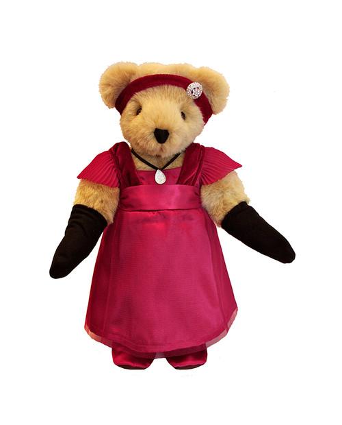 "13"" Downton Abbey Lady Mary Crawley Plush Collectible Teddy Bear - IMAGE 1"