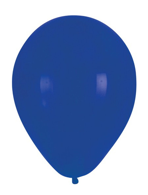 """Club Pack of 180 True Blue Latex Party Balloons 12"""" - IMAGE 1"""