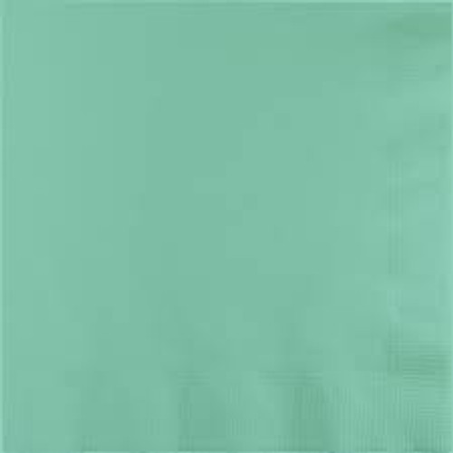 """Club Pack of 500 Mint Green Contemporary 3-Ply Disposable Luncheon Napkins 6.5"""" - IMAGE 1"""