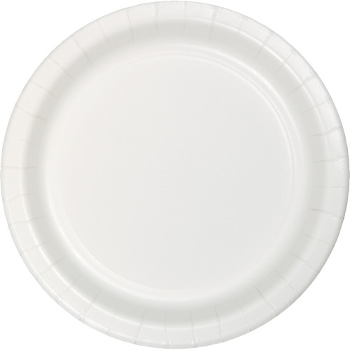 """Club Pack of 240 White Disposable Paper Party Dinner Plates 10"""" - IMAGE 1"""