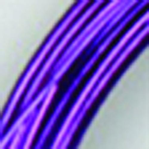 2mm Dark Purple Designer Aluminum Wire- Approximately 63 Yards - IMAGE 1
