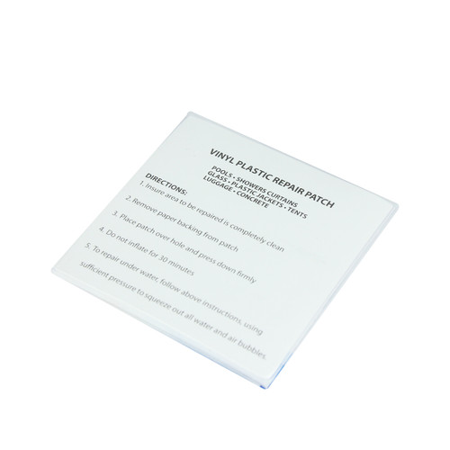 3-Inch 5 Pack Clear Repair Patches for Inflatables - IMAGE 1