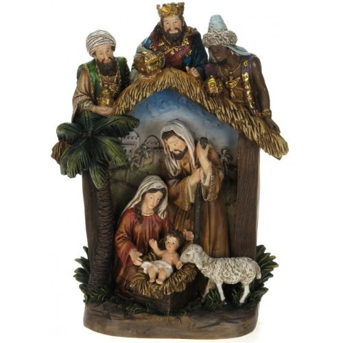 Christmas Nativity Pieces Sets Figures Stables Christmas Central