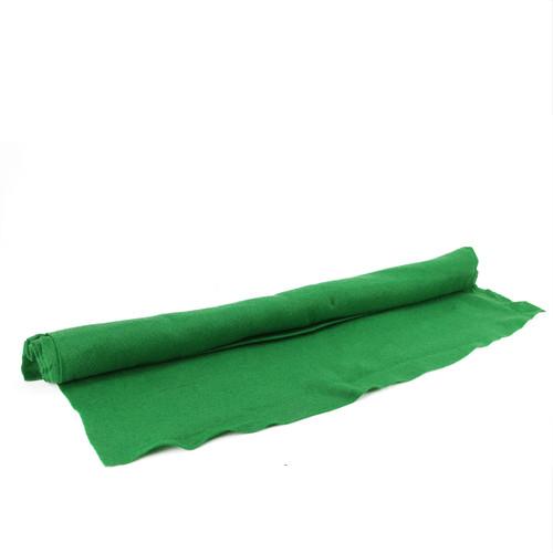 """Green Artificial Powder Snow Christmas Drape Cover 36"""" x 96"""" - IMAGE 1"""