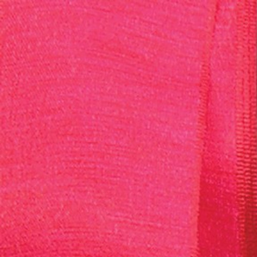 """Red Solid Taffeta Wired Craft Ribbon 1.5"""" x 54 Yards - IMAGE 1"""