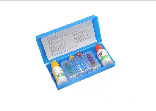 3-Way Swimming Pool Test Kit with Case - Tests pH, Chlorine and Bromine Levels - IMAGE 1