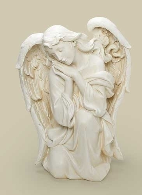 "22.5"" Joseph's Studio Religious Kneeling Angel Outdoor Christmas Nativity Statue - IMAGE 1"
