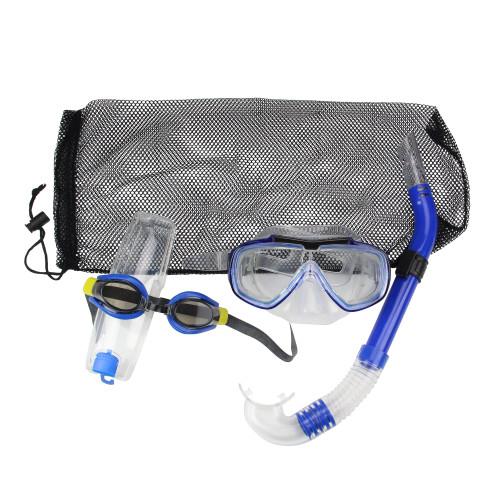 "16"" Blue Aqua Islander Adult Scuba Gear Combo Pack - IMAGE 1"