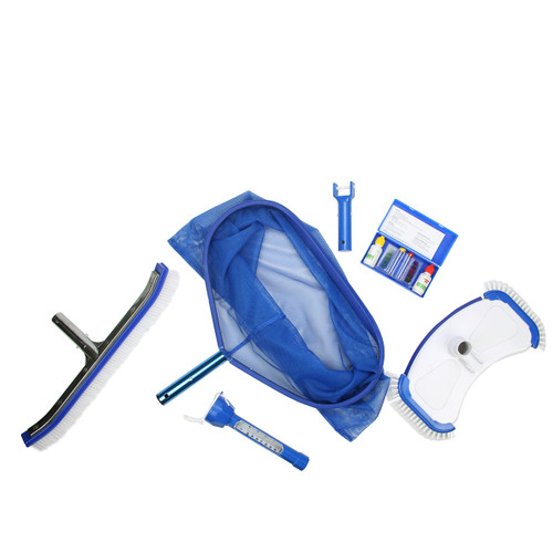 5-Piece Swimming Pool Thermometer Cleaning and Testing Kit 19 - IMAGE 1
