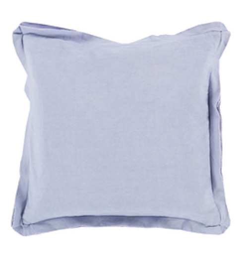"""20"""" Purple Contemporary Solid Square Throw Pillow - IMAGE 1"""