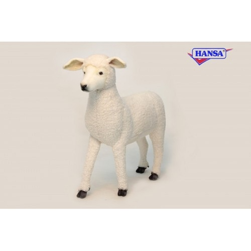 "Life-like Handcrafted Extra Soft Plush Lamb Stool Stuffed Animal 31.25"" - IMAGE 1"
