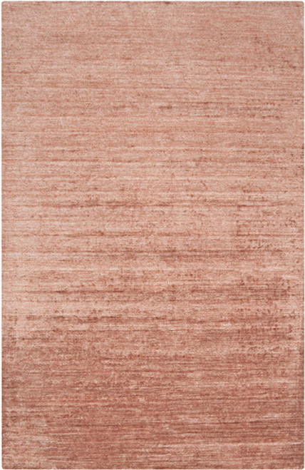 3.5' x 5.5' Distressed Pink Hand Knotted Rectangular Area Throw Rug - IMAGE 1