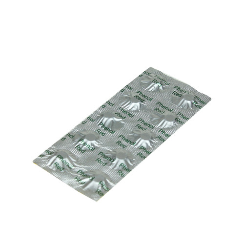 Pack of 10 Phenol Red Water Test Tablets for Swimming Pools - IMAGE 1