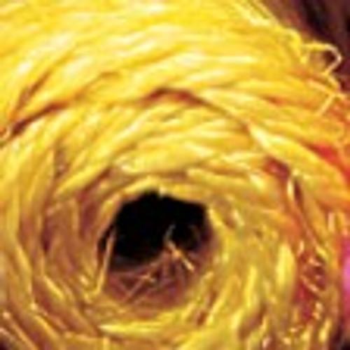 "Yellow Braided Snail Bundled Ribbon 1.5"" x 360 Yards - IMAGE 1"