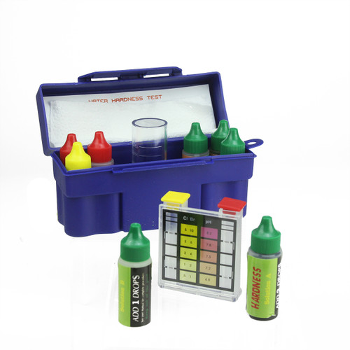 6-Way Test Kit with Testing Block and Case for Swimming Pools and Spas - IMAGE 1