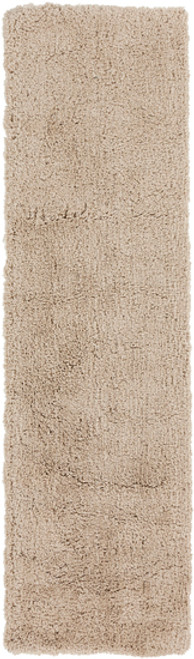 2.25' x 8' Solid Brown Hand Woven Area Throw Rug Runner - IMAGE 1