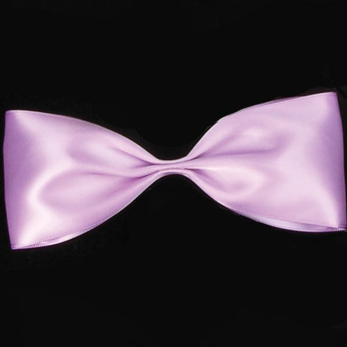 """Lavender Purple Double Face Satin Contemporary Craft Ribbon 2.5"""" x 27 Yards - IMAGE 1"""