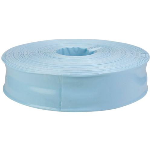 """200' x 1.5"""" Sky Blue Swimming Pool Filter Backwash Hose - IMAGE 1"""