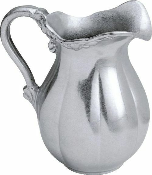 """8.5"""" English Hand Crafted Statesmetal Kitchen 66 Ounce Drinking Water Pitcher - IMAGE 1"""
