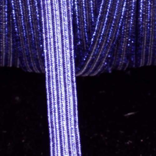 "Purple Contemporary Braided Elastic Trim 0.25"" x 108 Yards - IMAGE 1"