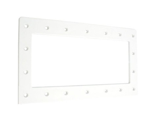 """14"""" White Wide Mouth Swimming Pool or Spa Skimmer Face Plate - IMAGE 1"""