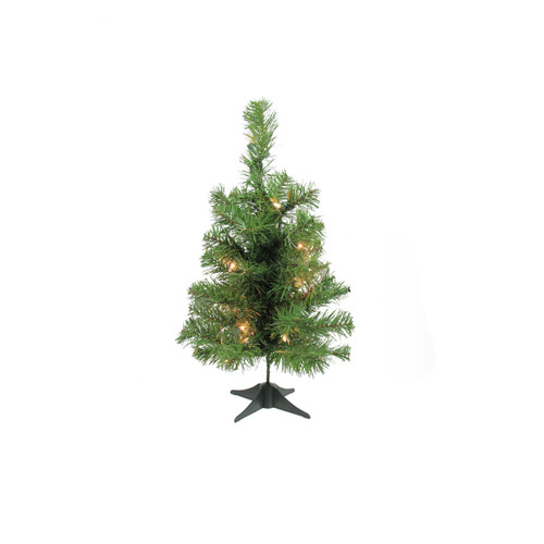 "18"" Pre-Lit Medium Traditional Noble Fir Artificial Christmas Tree - Clear Lights - IMAGE 1"