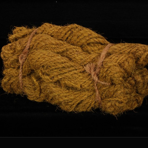 Brown Coco Fiber Hand Twisted Rope Spools 400 Yards - IMAGE 1