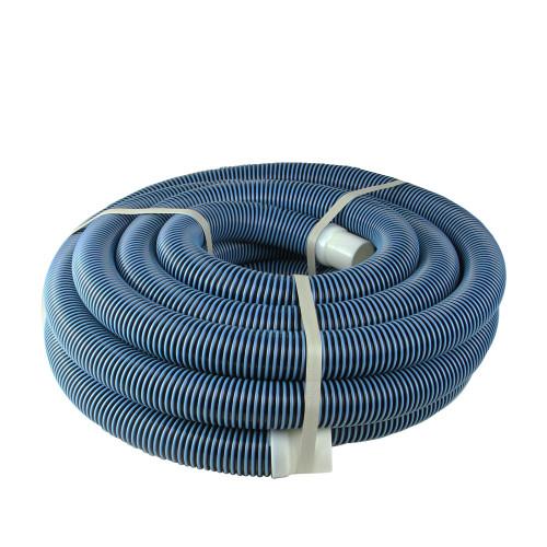 "35' x 1.5"" Blue Spiral Wound Swimming Pool Vacuum Hose - IMAGE 1"