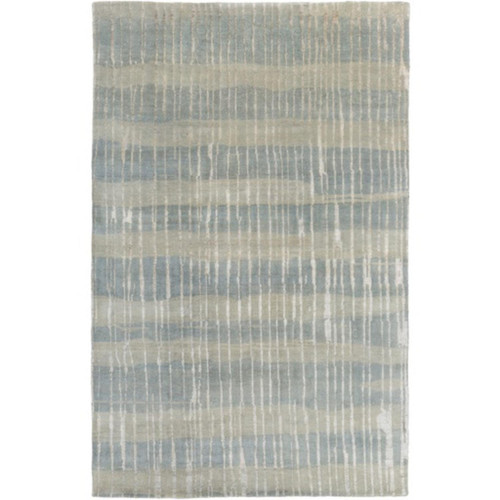 2' x 3' Winter Forest Green and Olive Green Area Throw Rug - IMAGE 1