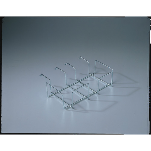 """Pack of 4 Silver Durable Metal Shelf Extension Display Racks for Lunch Napkins 13"""" - IMAGE 1"""
