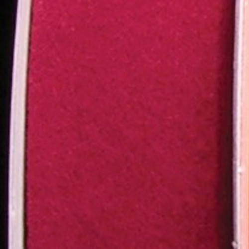 "Soft Burgundy Red Felt Craft Ribbon 1.5"" x 80 Yards - IMAGE 1"