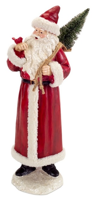"""18.5"""" Red and White Santa Claus Christmas Tabletop Figurine - IMAGE 1"""