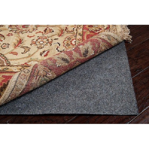 Gray Recycled Fiber Standard Reversible Felted Pad for a 4' x 10' Rug Runner - IMAGE 1