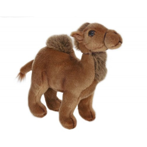 Set of 3 Brown Handcrafted Dromedary One-Hump Camel Stuffed Animals 9 - IMAGE 1
