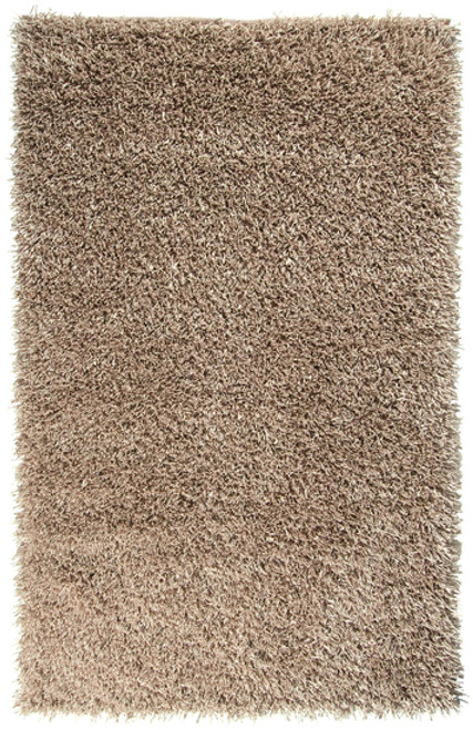 8' x 10.5' Solid Wheat Brown Hand Woven Rectangular Area Throw Rug - IMAGE 1