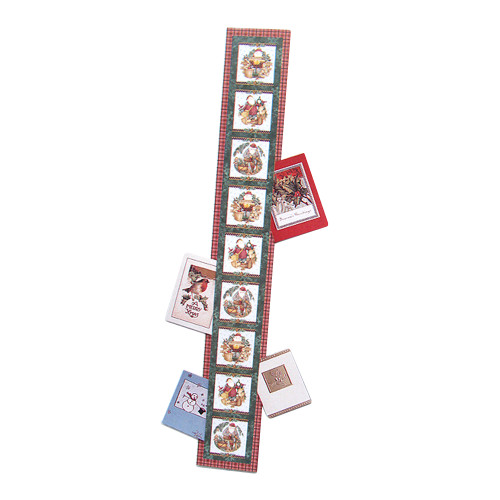 """Club Pack Of 144 Woodland Santa Claus Christmas Greeting Card Holders 42"""" - IMAGE 1"""